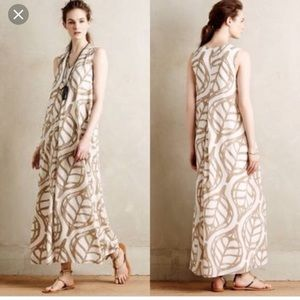 NWT Anthropologie Whit Two long dress - Never worm